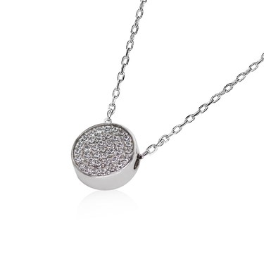Carat* London Gala Round Pendant Necklace  - Click to view larger image