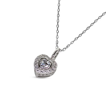 Carat* London Amara Heart Necklace  - Click to view larger image