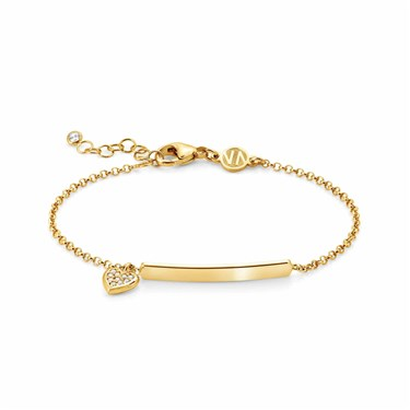Nomination Gioie Gold Heart Bracelet  - Click to view larger image