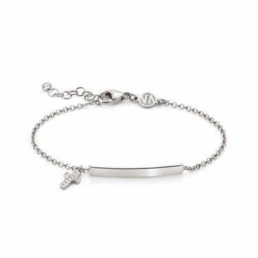 Nomination Gioie Silver Cross Bracelet  - Click to view larger image