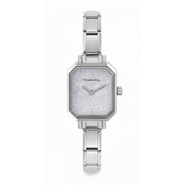 Nomination Silver Glitter Paris Watch  - Click to view larger image