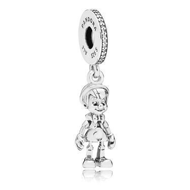 Pandora Disney Pinocchio Pendant Charm  - Click to view larger image