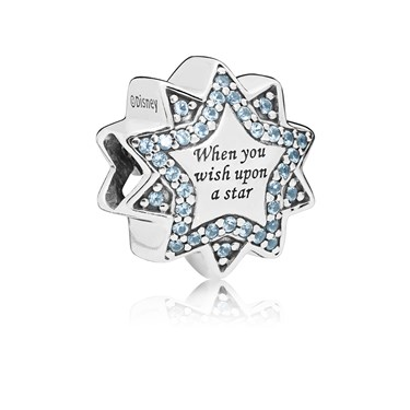 Pandora Disney Wish Upon a Star Charm  - Click to view larger image
