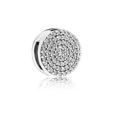 Pandora Silver Reflexions Dazzling Elegance Charm  - Click to view larger image