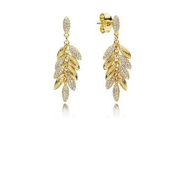 PANDORA Limited Edition Floating Grains Earrings  - Click to view larger image