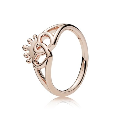 Pandora Rose United Regal Hearts Ring  - Click to view larger image