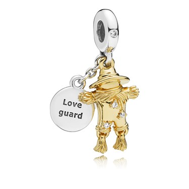 PANDORA Scarecrow Guardian Pendant Charm  - Click to view larger image