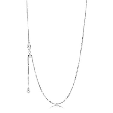PANDORA Sterling Silver Necklace  - Click to view larger image