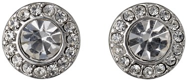 Pilgrim Silver Clementine Classic Earrings  - Click to view larger image