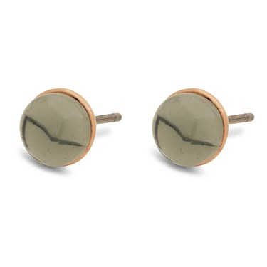 Pilgrim Rose Gold + Grey Arden Earrings  - Click to view larger image
