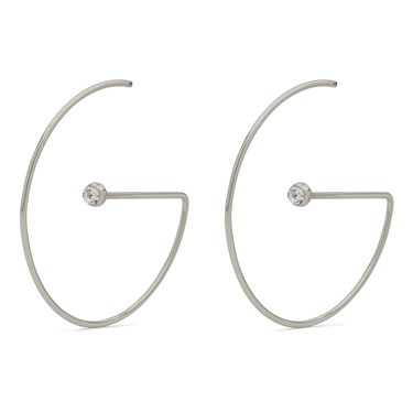 Pilgrim Silver Crystal Lia Earring   - Click to view larger image