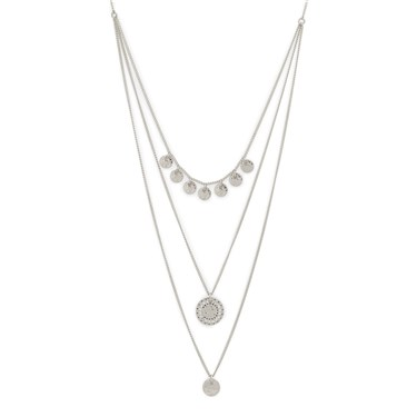 Pilgrim Silver Arden Crystal Necklace  - Click to view larger image
