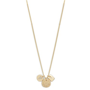 Pilgrim Gold Crystal Marley Necklace  - Click to view larger image