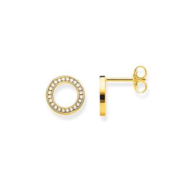 Thomas Sabo Circle Pave Ear Studs  - Click to view larger image