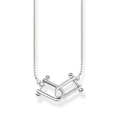 Thomas Sabo Silver Iconic Linked Necklace   - Click to view larger image