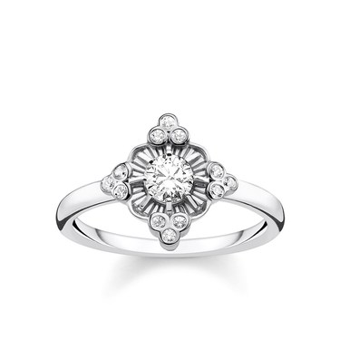 Thomas Sabo Kingdom of Dreams Flower Ring  - Click to view larger image