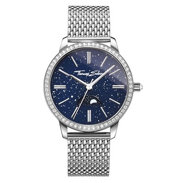 Thomas Sabo Moonphase Blue Womens Watch  - Click to view larger image