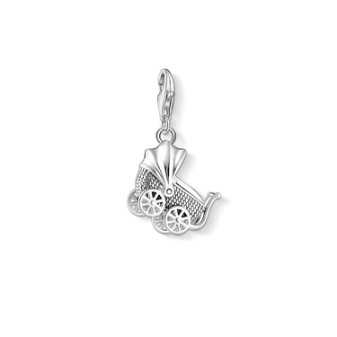 Thomas Sabo Vintage Pram Charm   - Click to view larger image
