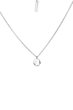 Tutti & Co Silver Coastal Cave Necklace  - Click to view larger image