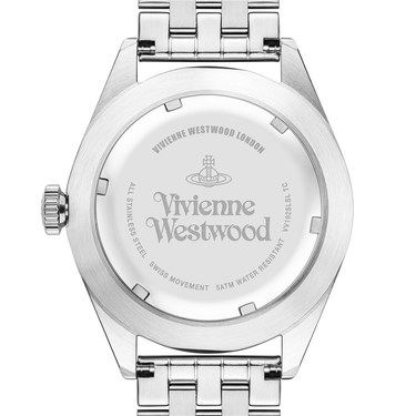 Vivienne Westwood Silver Conduit Watch  - Click to view larger image