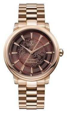 Vivienne Westwood Rose Gold Shoreditch Watch  - Click to view larger image