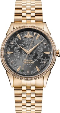 Vivienne Westwood Gold Wallace Watch  - Click to view larger image