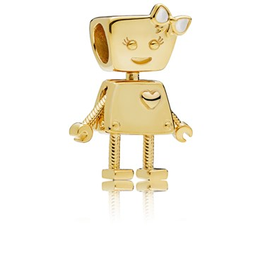 Pandora Shine Bella Bot Charm  - Click to view larger image