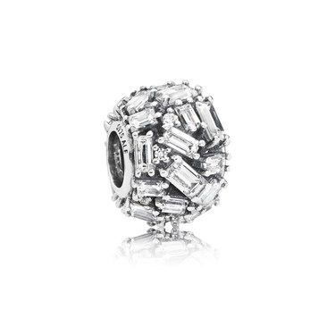PANDORA Chiselled Elegance Charm  - Click to view larger image
