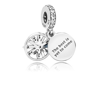 Pandora Dazzling Wishes Pendant Charm  - Click to view larger image