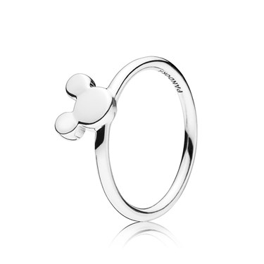 Pandora Disney Mickey Silhouette Ring  - Click to view larger image