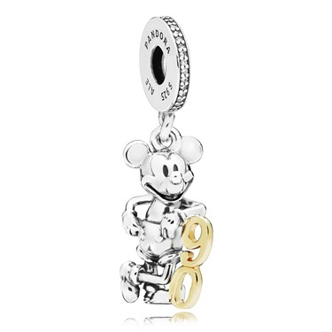 Pandora Disney Limited Edition Mickeys 90th Anniversary Charm  - Click to view larger image