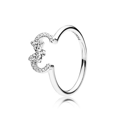 PANDORA Disney Minnie Silhouette Ring  - Click to view larger image