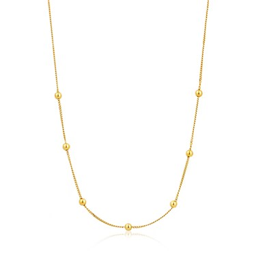 Ania Haie Gold Modern Beaded Necklace  - Click to view larger image