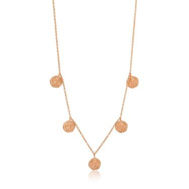 Ania Haie Rose Gold Deus Necklace  - Click to view larger image