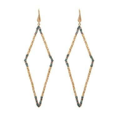 Lily & Rose Jagger Indian Sapphire Earrings  - Click to view larger image