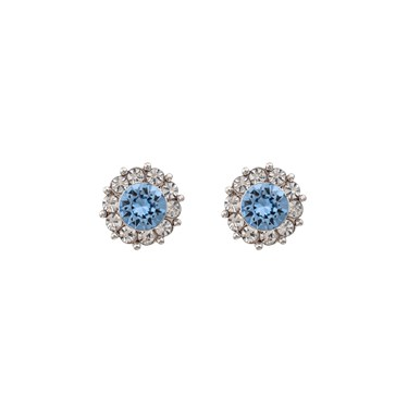 Lily & Rose Miss Sofia Light Sapphire Earrings  - Click to view larger image