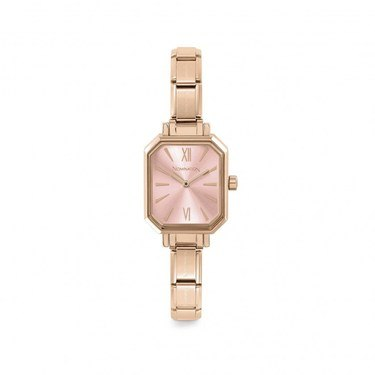 Nomination Pairs Rose Gold Plated Pink Watch  - Click to view larger image