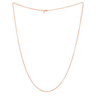 Storie 70cm Rose Gold Pendant Chain  - Click to view larger image