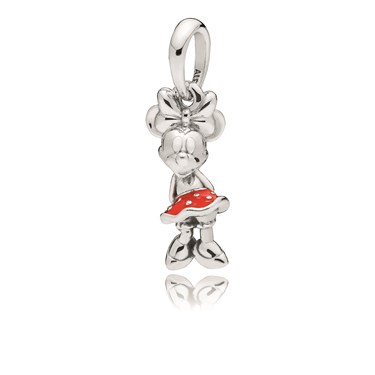 Pandora Disney, Minnies Polka Dots Pendant  - Click to view larger image