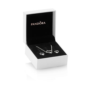Pandora Hearts of Love Gift Set  - Click to view larger image