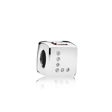 PANDORA Love Dice Charm  - Click to view larger image