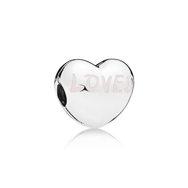 PANDORA Loved Heart Clip  - Click to view larger image