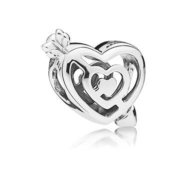 PANDORA Path  to Love Charm  - Click to view larger image