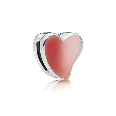 PANDORA Reflexions Asymmetric Heart of Love Charm  - Click to view larger image