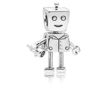 PANDORA Rob Bot Charm  - Click to view larger image