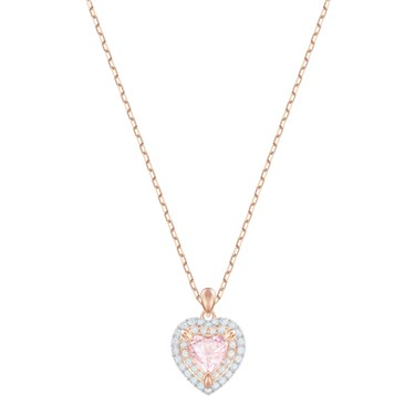 Swarovski One Subtle Heart Necklace  - Click to view larger image