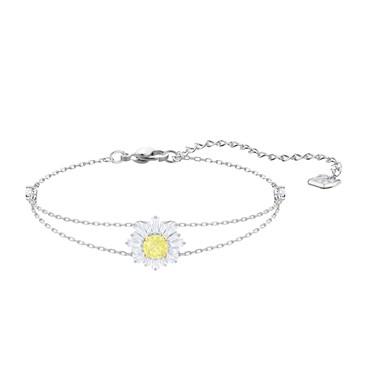 Swarovski Silver Sunshine Bracelet  - Click to view larger image