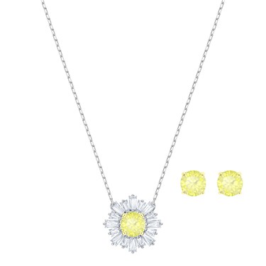 Swarovski Silver Sunshine Set  - Click to view larger image
