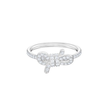 Swarovski Lifelong Bow Ring  - Click to view larger image