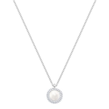 Swarovski Originally Pearl Necklace  - Click to view larger image